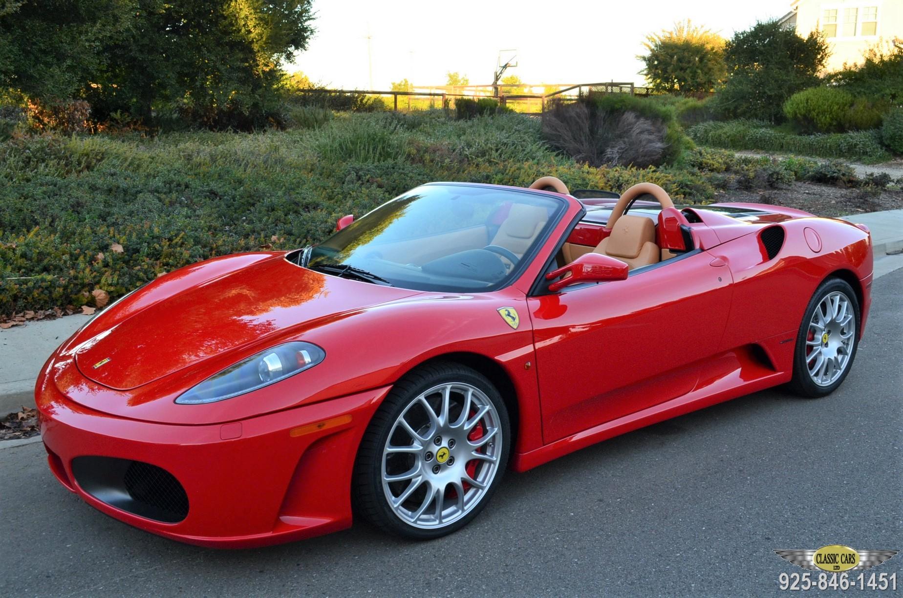 2005 Ferrari F430 Spider 6 Speed 3 Pedal Classic Cars Ltd Pleasanton California