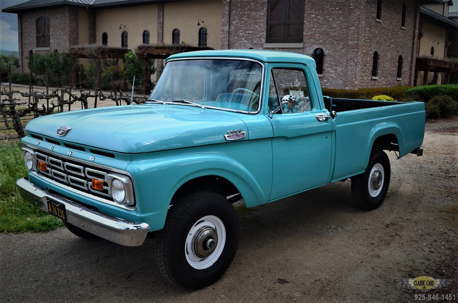 "1964 Ford F100 Factory ""HighBoy"" 4WD – CLASSIC CARS LTD"