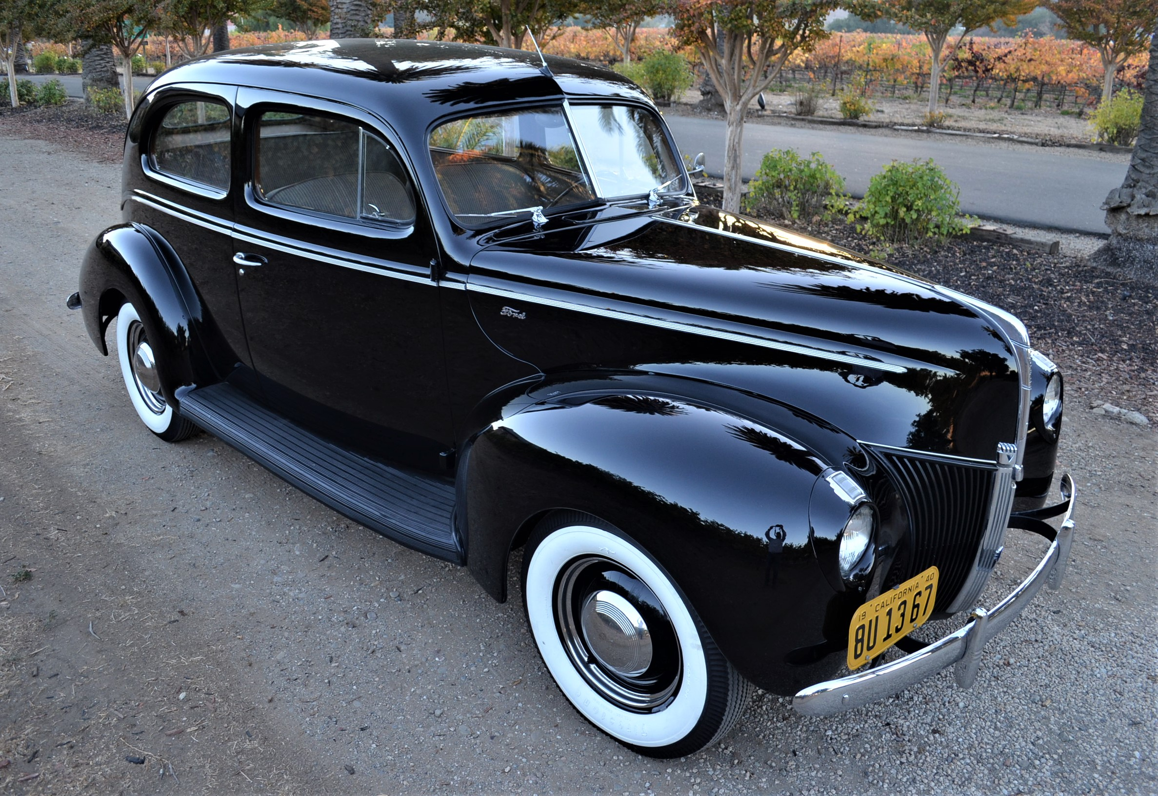 Ad 1940 Ford Other 1940 Ford Coupe Traditional Flathead Hot Rod W Upgrades 1940 Ford Coupe 1940 Ford Dream Cars